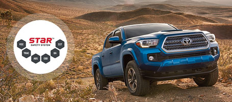 2016 Toyota Tacoma Star Safety System