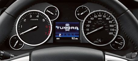 2016 Toyota Tundra Multi-Information Display