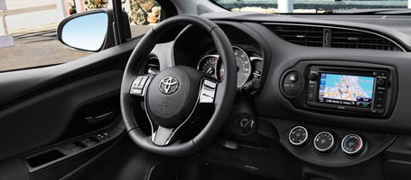 2016 Toyota Yaris steering wheel