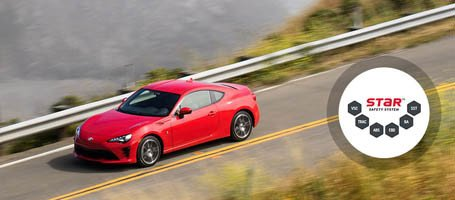 2017 Toyota 86 safety