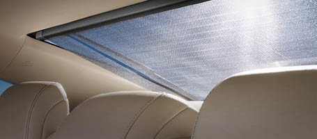 Power Rear Sunshade