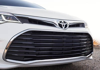Bold, new front grille