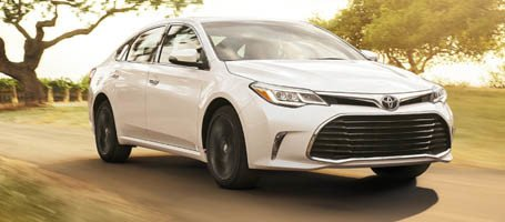 2017 Toyota Avalon performance