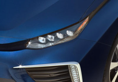 2017 Toyota Mirai LED Headlamps