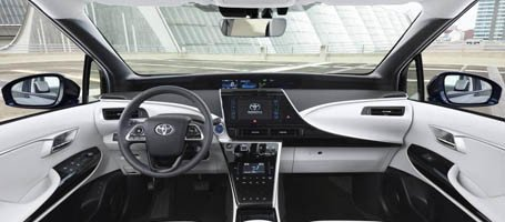 2017 Toyota Mirai Noise-Reducing Glass