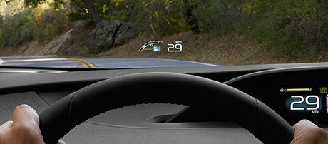 2017 Toyota Prius Prime Head-Up display