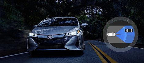 2017 Toyota Prius Prime High Beams