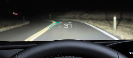 2017 Toyota Prius Head-Up Display