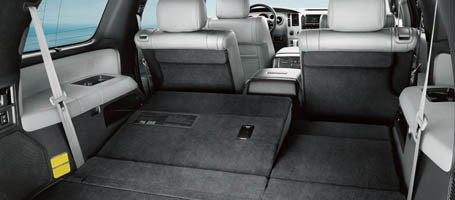 2017 Toyota Sequoia Third-Row Seats