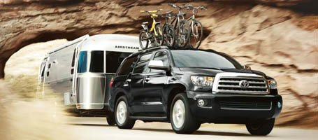 2017 Toyota Sequoia towing capacity