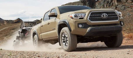 2017 Toyota Tacoma Tow Package
