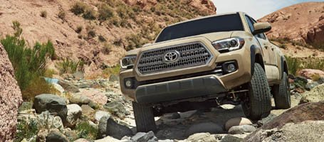 2017 Toyota Tacoma performance