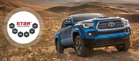 2017 Toyota Tacoma Star Safety System