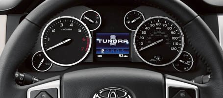 2017 Toyota Tundra Display