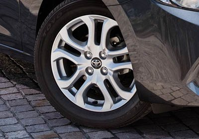 2017 Toyota Yaris iA Alloy Wheels