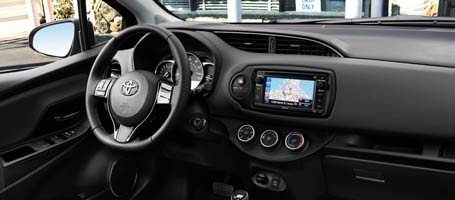2017 Toyota Yaris Steering Wheel