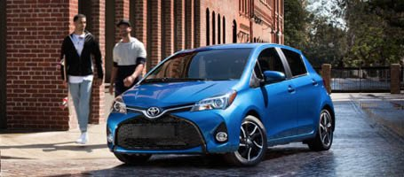 2017 Toyota Yaris alloy wheels