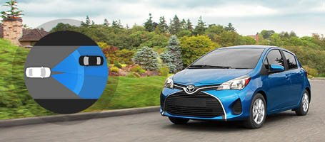 2017 Toyota Yaris Automatic High Beams