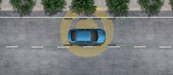 Lane Departure Alert with Steering Assist