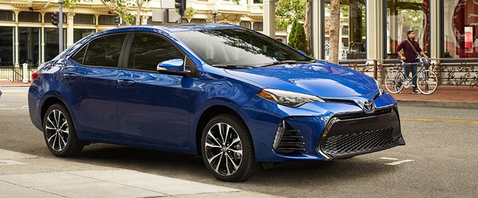 2018 Toyota Corolla Overview Image