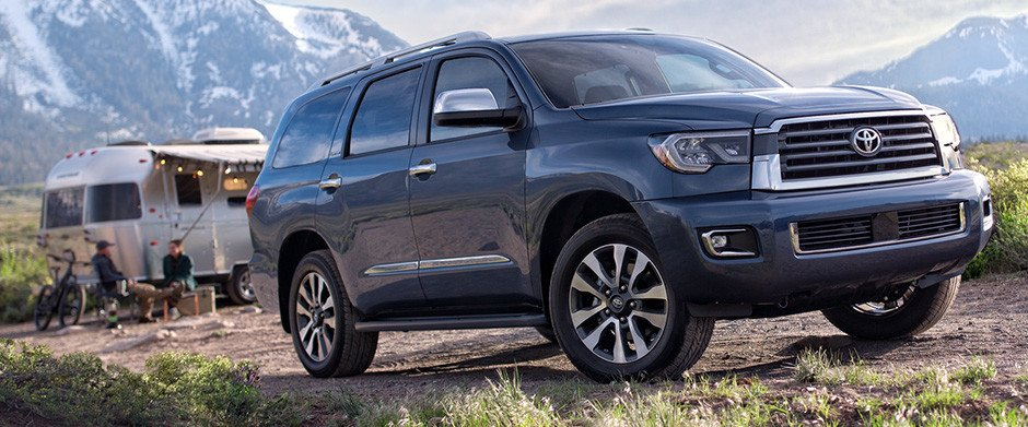 2018 Toyota Sequoia Overview Image