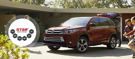 2018 Toyota Highlander safety