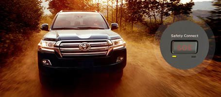 2018 Toyota Land Cruiser safety