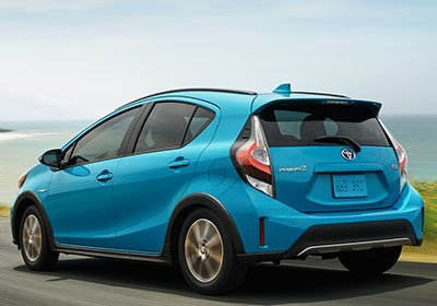 2018 Toyota Prius C appearance