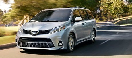 2018 Toyota Sienna performance