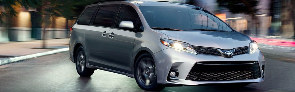 2018 Toyota Sienna Safety Main Img