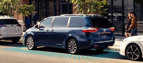 2018 Toyota Sienna safety