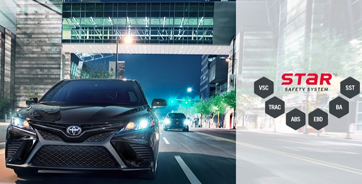 2019 Toyota Camry safety3