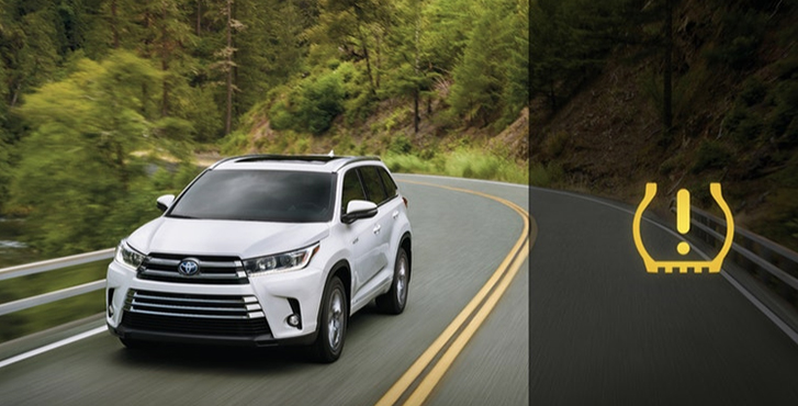 2019 Toyota Highlander safety