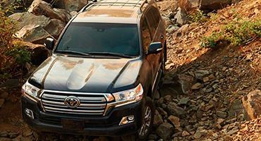 2019 Toyota Land Cruiser appearance