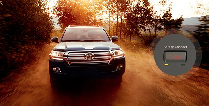 2019 Toyota Land Cruiser safety3