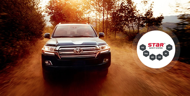2019 Toyota Land Cruiser safety4
