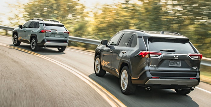 2019 Toyota RAV4 Multi-Link Rear Suspension
