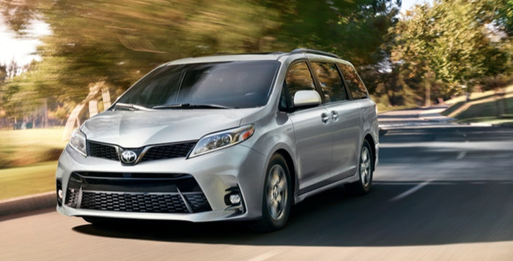 2019 Toyota Sienna performance2