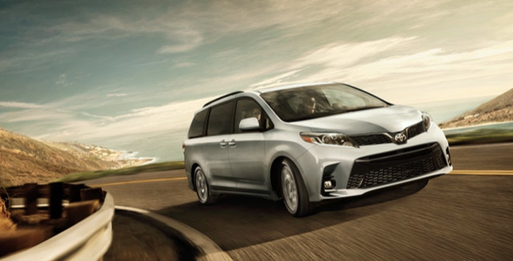 2019 Toyota Sienna performance4