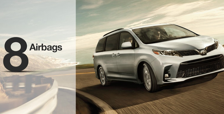 2019 Toyota Sienna safety2