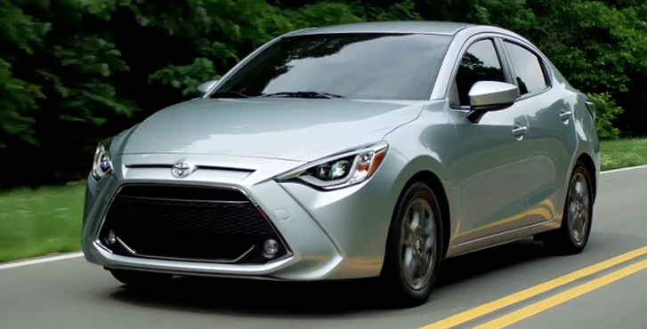 2019 Toyota Yaris performance