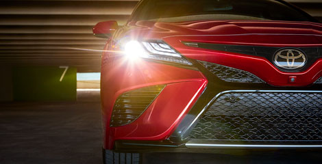 2020 Toyota Camry appearance