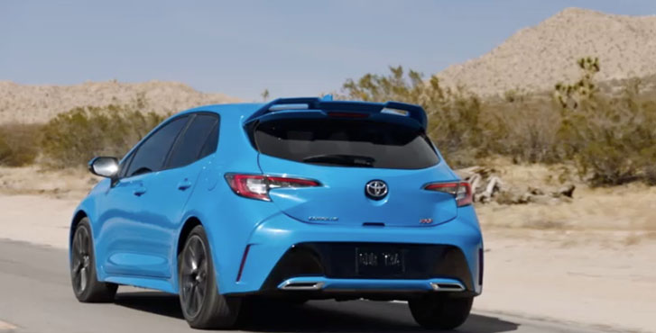 2020 Toyota Corolla Hatchback performance