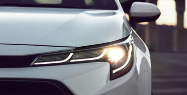 Standard LED headlights with Daytime Running Lights