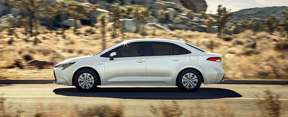2020 Toyota Corolla Hybrid Safety Main Img