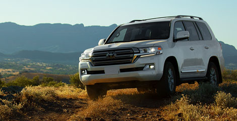 2020 Toyota Land Cruiser appearance