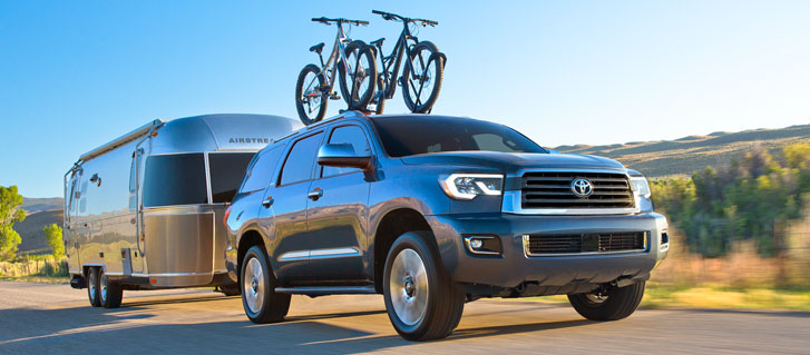 2020 Toyota Sequoia performance