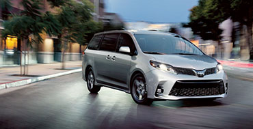2020 Toyota Sienna appearance