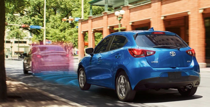 2020 Toyota Yaris Hatchback safety