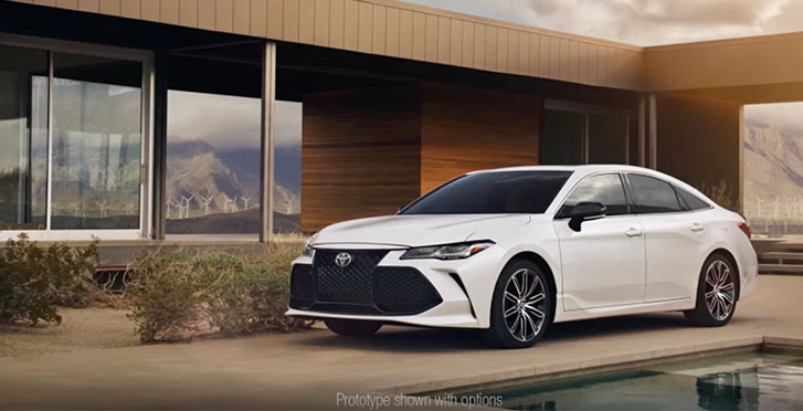 2021 Toyota Avalon appearance